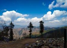 Paisaje hermoso con la nube y el árbol fotos de archivo libres de regalías
