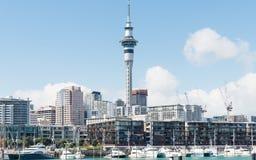 Paisaje hermoso de Auckland en Nueva Zelanda fotografía de archivo