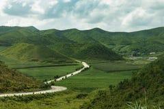 Paisaje hermoso de Corea del Norte  Fotos de archivo
