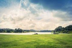 Paisaje hermoso de ghats occidentales fotos de archivo libres de regalías