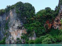 Paisaje hermoso de Krabi Foto de archivo