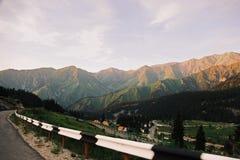 Paisaje hermoso de la montaña Imagen de archivo libre de regalías