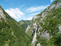 Paisaje hermoso de la montaña imagenes de archivo