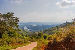 Paisaje hermoso de la montaña Fotografía de archivo libre de regalías