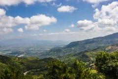 Paisaje hermoso de la montaña Fotografía de archivo