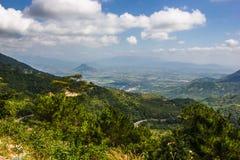 Paisaje hermoso de la montaña Foto de archivo