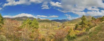 Paisaje hermoso de la montaña en Macedonia Imagen de archivo libre de regalías