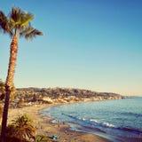 Paisaje hermoso de la playa Imagenes de archivo