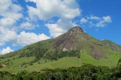 Paisaje hermoso de la roca lisa, el Brasil fotos de archivo
