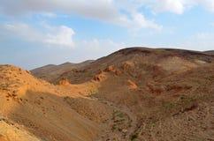 Paisaje hermoso de las formaciones y de las dunas de roca Foto de archivo libre de regalías