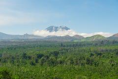 Paisaje hermoso de las montañas Imagenes de archivo