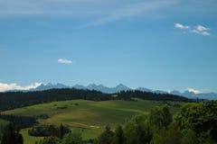 Paisaje hermoso de montañas Imagenes de archivo
