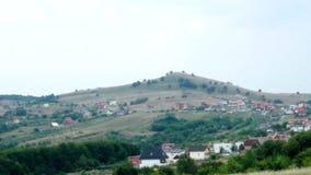 Paisaje hermoso de Rumania almacen de video