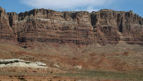 Paisaje hermoso del desierto de Gobi almacen de video