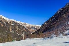Paisaje hermoso del invierno Fotografía de archivo libre de regalías