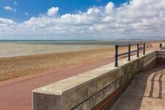 Paisaje hermoso del mar, Inglaterra, Imagen de archivo libre de regalías