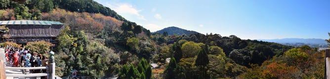Paisaje hermoso del templo de Kiyomizu, Kyoto Fotos de archivo
