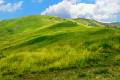 Colinas de la montaña Imagen de archivo
