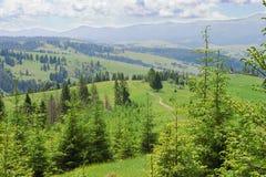 Colinas de la montaña Imagen de archivo libre de regalías