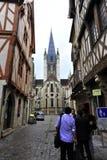 Paisaje hermoso e impresionante de la ciudad Fotografía de archivo