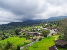Paisaje hermoso en Indonesia imagen de archivo