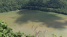 Paisaje hermoso en la garganta de Danubio almacen de metraje de vídeo