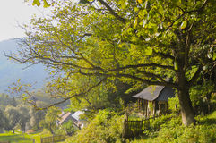 Paisaje hermoso en Rumania Fotografía de archivo libre de regalías