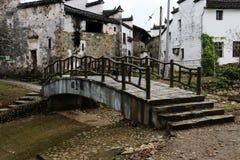 Paisaje hermoso en Wuyuan, Jiangxi fotos de archivo