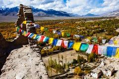 Paisaje hermoso, Leh, Ladakh, Jammu y Cachemira, la India fotografía de archivo libre de regalías