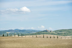Paisaje hermoso Toscana Imagen de archivo