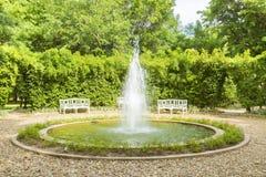 Paisaje hermoso y jardín Foto de archivo libre de regalías