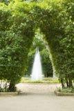 Paisaje hermoso y jardín Fotografía de archivo
