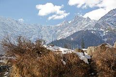 Paisaje Himalayan del invierno imágenes de archivo libres de regalías