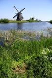 Paisaje holandés Fotografía de archivo