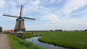 Paisaje holandés foto de archivo libre de regalías