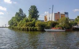 Paisaje holandés de la naturaleza alrededor de Amsterdam Fotos de archivo