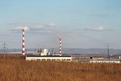 Paisaje industrial Imagenes de archivo