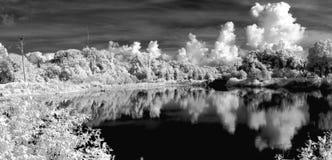 Paisaje infrarrojo Fotos de archivo libres de regalías