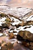 Paisaje inglés típico del invierno Imagenes de archivo
