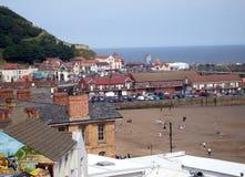 Paisaje Inglaterra de la playa fotos de archivo