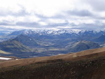 Paisaje islandés Foto de archivo