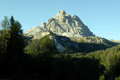 Paisaje italiano de la montaña Foto de archivo libre de regalías