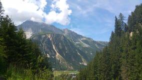 Paisaje italiano de la montaña Imagenes de archivo