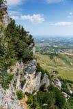 Paisaje italiano en Toscana Imagen de archivo libre de regalías