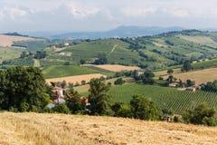 Paisaje italiano rural fotografía de archivo libre de regalías