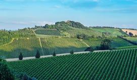 Paisaje italiano rural en Toscana imagen de archivo libre de regalías