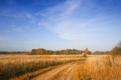 Paisaje letón del país Fotos de archivo libres de regalías