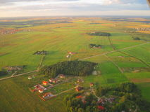 Paisaje lituano del verano Foto de archivo libre de regalías