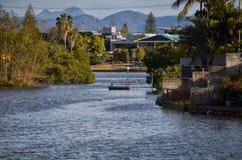 Paisaje magnífico en Gold Coast Foto de archivo libre de regalías