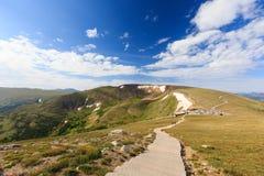 Paisaje magnífico en Rocky Mountain National Park imagen de archivo